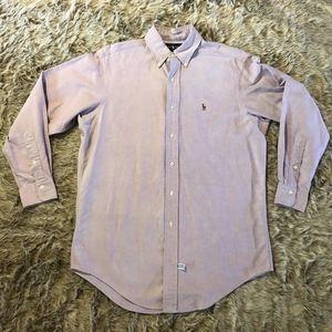 Ralph Lauren Oxford Purple Button Down Shirt